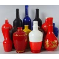 玻璃酒瓶漆价格,水性玻璃器皿釉漆由四川成都捷宇涂料