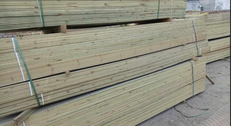 北京碳化木地板,北京碳化木地板料批发,防腐木批发