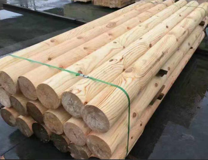 北京防腐木,北京碳化木,北京防腐木圆柱批发定做