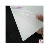 户外抗晒耐用标识牌 pvc白色硬板 防腐阻燃