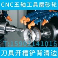 安卡ANCA数控五轴工具磨刀具排屑槽磨削专用金刚石砂轮