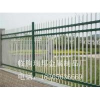 厂房学校小区锌钢围墙加工定制山东锌钢护栏家锌钢围栏供应