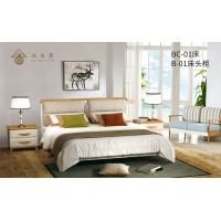 欧式风格床,实木床,舒适健康床,家居卧室床。时尚大气床
