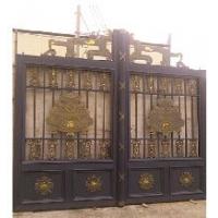 供应豪华装饰铸铝门w-02