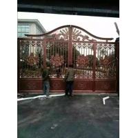2016铝艺豪华庭院大门  别墅庭院大门