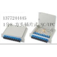 SC/UPC1分8插片式分路器
