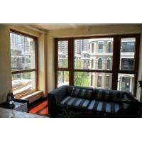 精益求精铝木复合门窗、亿森达河北铝木复合型材成品定制