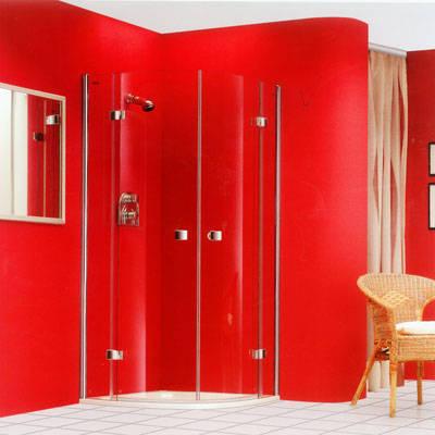 格瑞森系列圆弧形双开门淋浴房