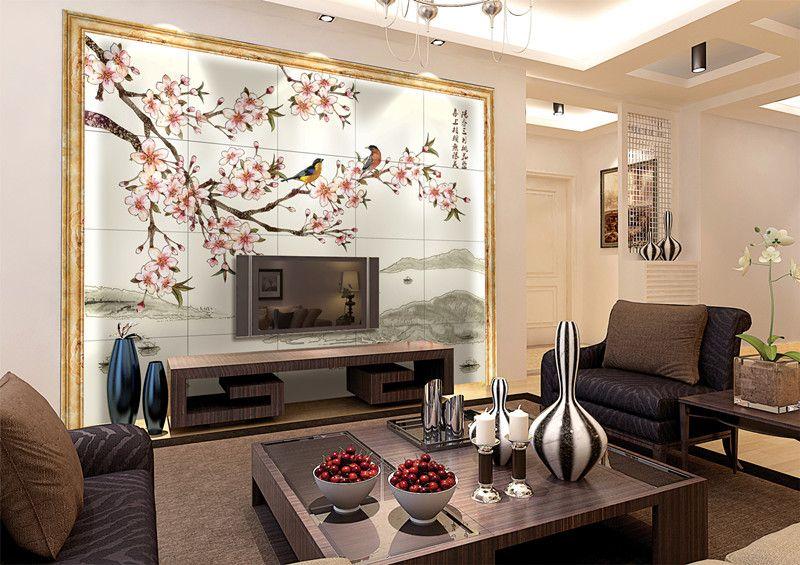 3,沙发背景墙:  客厅中除放置电视和音响的影视墙之外,还有一面沙发