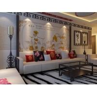 彩虹石品牌客厅沙发背景墙艺术瓷砖彩雕壁画