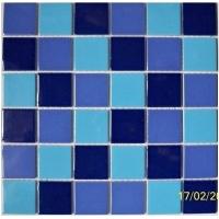陶瓷游泳池马赛克 三色混游泳池砖