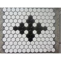 陶瓷六角形马赛克 六角背景墙砖 地面马赛克装饰砖