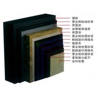 岩棉板双层耐碱玻纤网薄抹灰外墙外保温系统(A级防火)