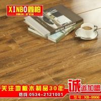 工程地板12mm厚度鑫柏品牌木地板 防水防潮地板