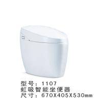 帝朝卫浴全自动智能马桶1107自己的冲水烘干除臭恒温带遥控座