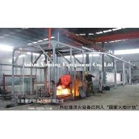 供应智能化鑫宁自动推杆式油淬火生产线热处理设备