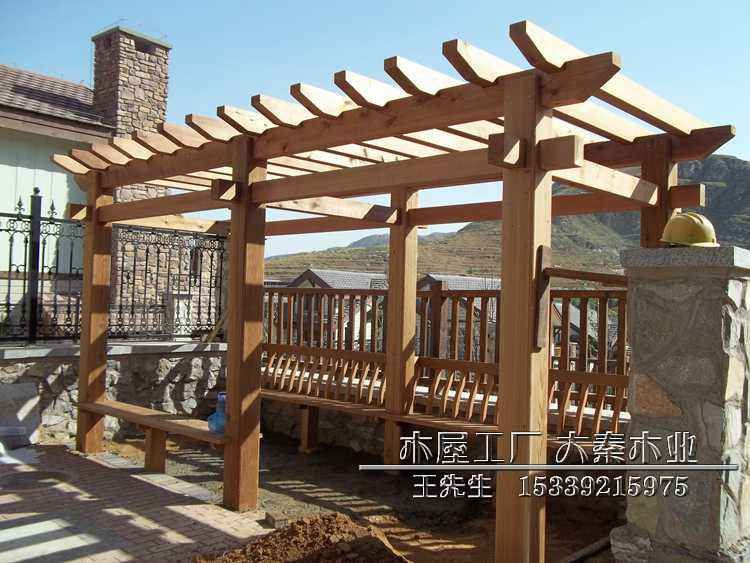 木屋建造 农业生态园木屋 西宁木别墅