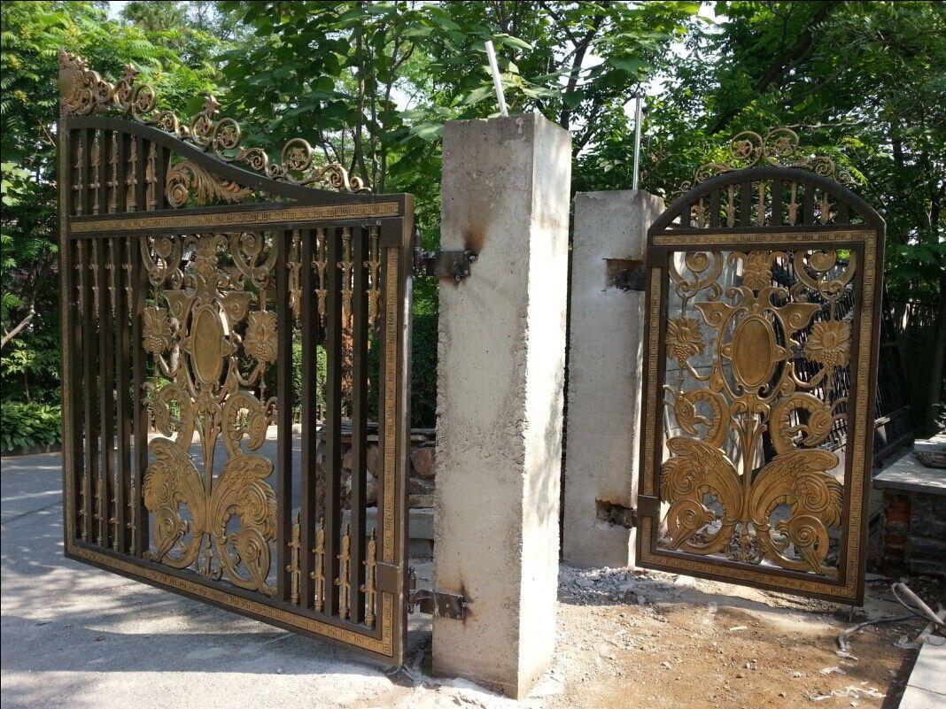 高档别墅庭院大门,铝合金门