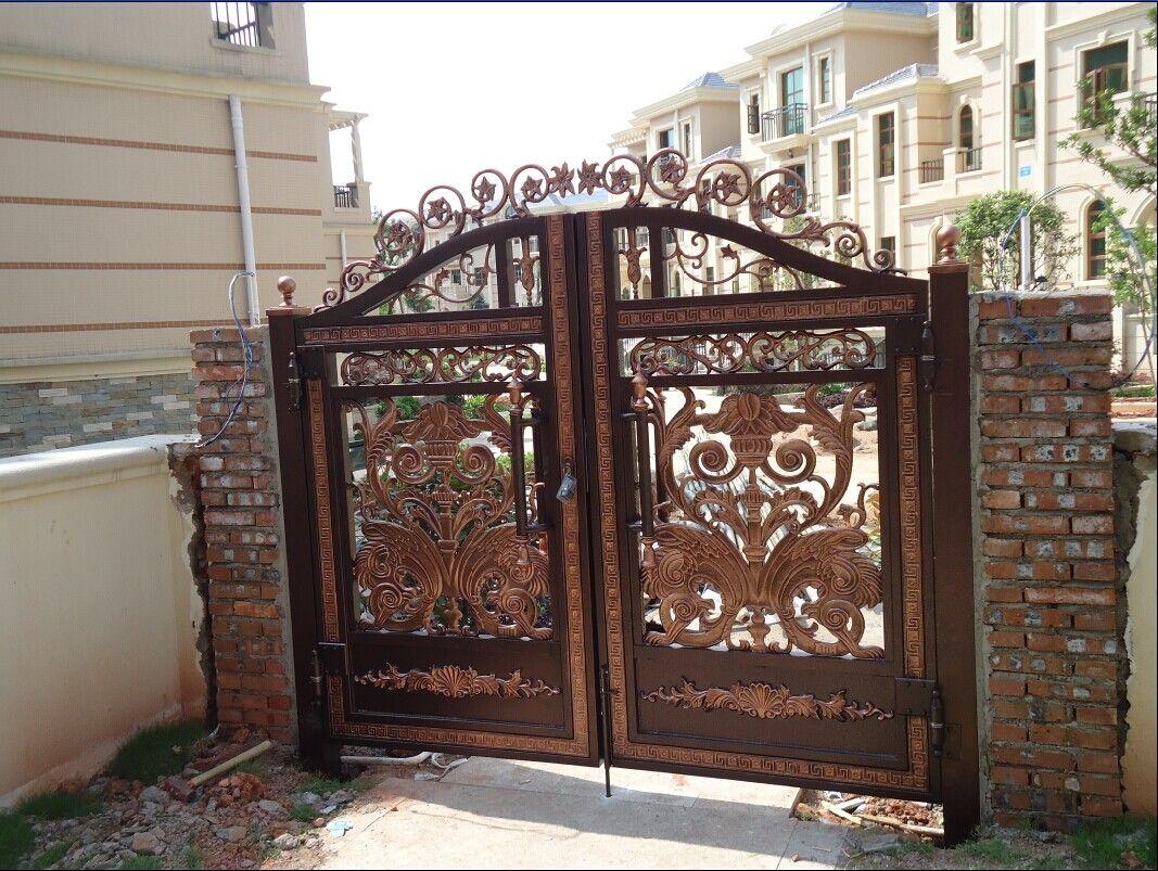 高档别墅庭院大门,户外大门