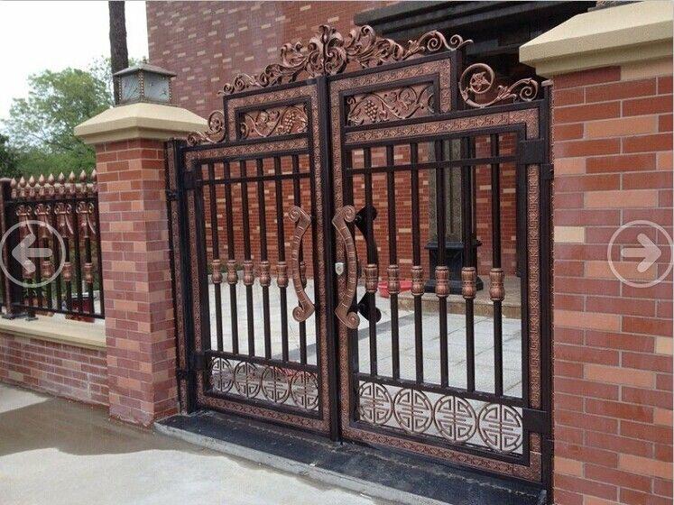 高档别墅庭院大门,铝合金产品