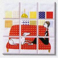 远方陶瓷-内墙砖系列-百合春天系列H6200B1