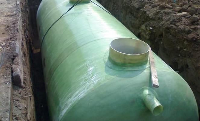 小型玻璃钢化粪池 农村用化粪池 小区用玻璃钢化粪池