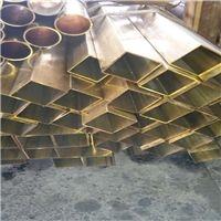 H65黄铜方管价格,焊条批发,扁管规格