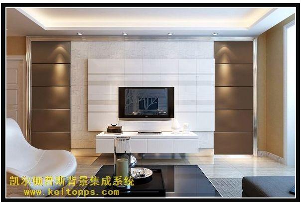 客厅背景墙取样电视背景墙的边图片8