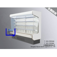 超市风幕柜冷柜水果保鲜柜低温奶冷藏冷冻展示柜
