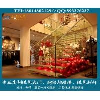 全玻楼梯定制、精品钢结构楼梯、玻璃楼梯供应商