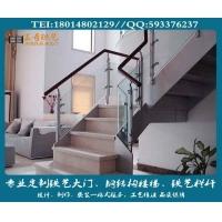 南京王奇钢结构楼梯定制、别墅豪华楼梯、旋转楼梯制作