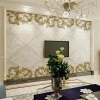 瓷砖艺术背景墙影视墙瓷砖电视背景墙瓷砖画欧式风格