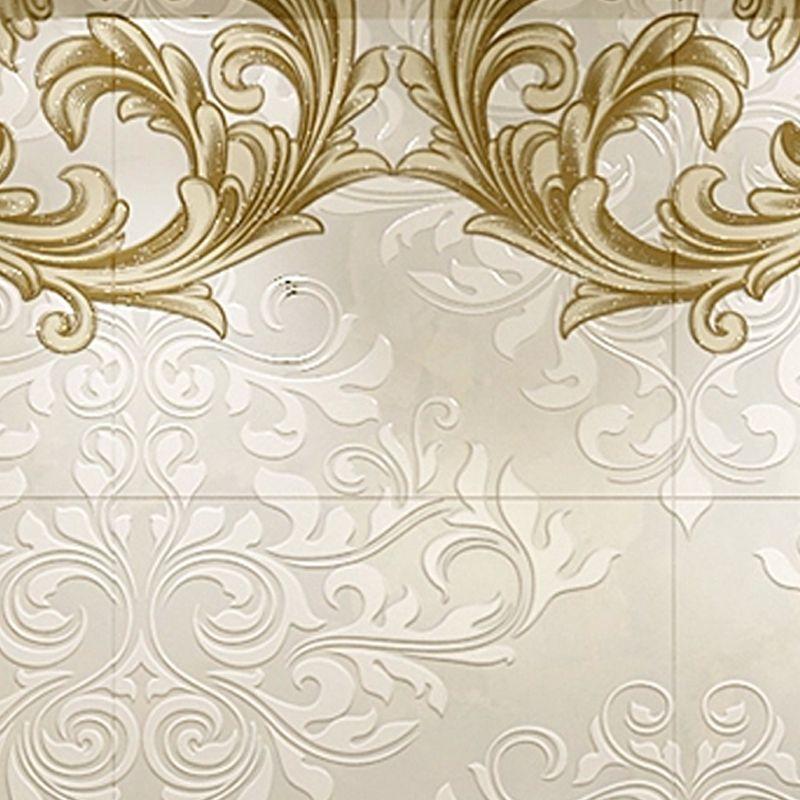电视背景墙瓷砖画欧式风格