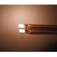 供应红外线镀金石英管双孔镀金加热管