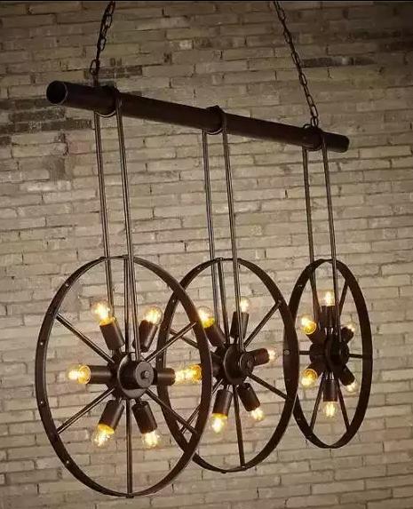 复古铁艺灯