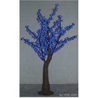 led 仿真蓝色樱花树