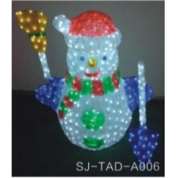led雪人造型