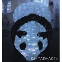 LED熊猫滴胶造型灯