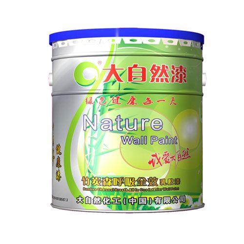 大自然漆-竹炭森呼吸全效乳胶漆-B