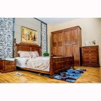 南京实木家具-波肯家具-进口白蜡木-卧室系列