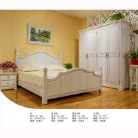 南京实木家具-波肯家具-美国进口白蜡木-卧室系列
