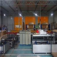 新型PVC快速门堆积门安装