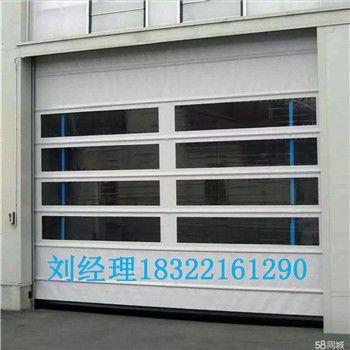 天津工业快速拉链门安装
