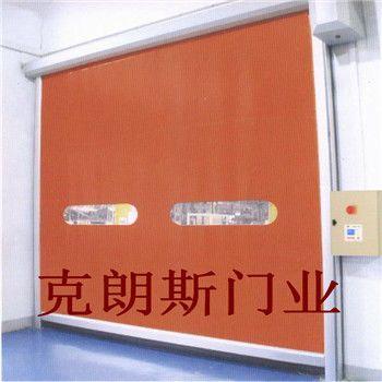 天津快速拉链门安装图片