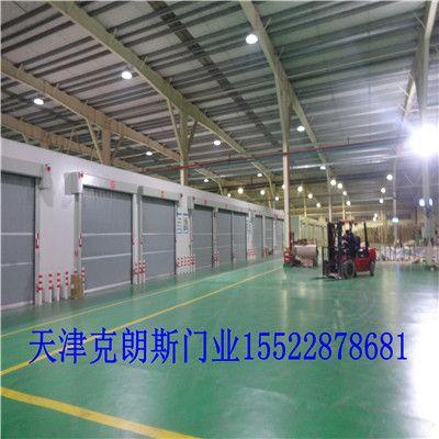 北京工业快速软门安装图片