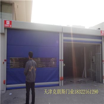 天津工业快速软门厂家定做