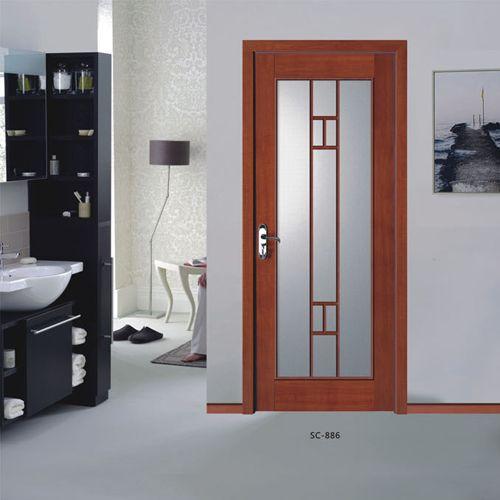 三川木门-玻璃门