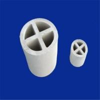 供应17-23%陶瓷氧化铝十字环 陶瓷散堆填料产品