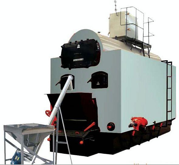4吨卧式生物质蒸汽锅炉