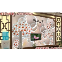 3D瓷砖背景墙|精雕背景墙|陶瓷雕刻艺术背景墙|背景墙